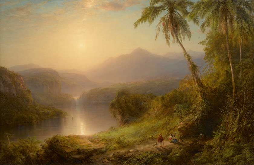Frederic Church - Valley of Santa Isabel